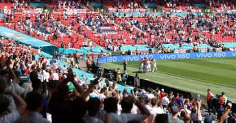 Capacity for Euro 2020 finale raised to 40,000