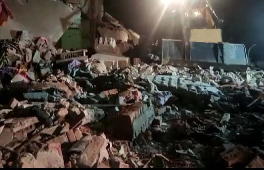 LPG cylinder explosion leads to house collapse, 8 dead