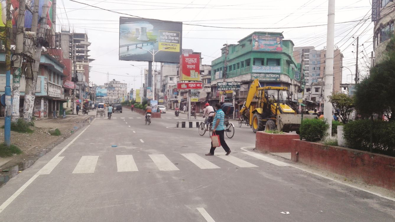 Khulna sees strict lockdown on second day