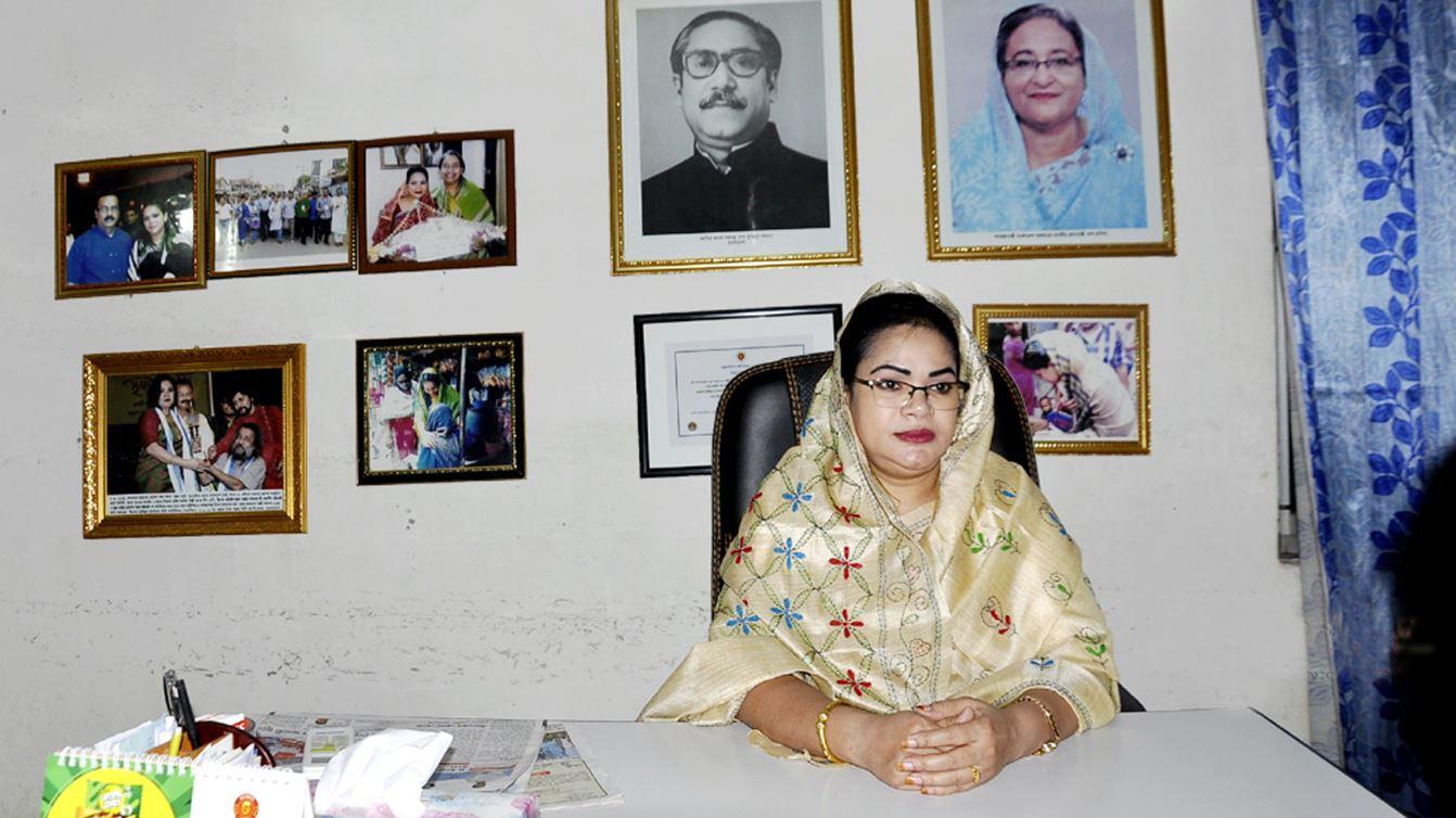 Razia's campaign for zero tolerance policy in Dhaka-14