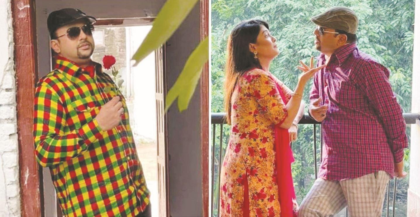 Riaz with Eid telefilm'Bhai Boroi Premik Purush'