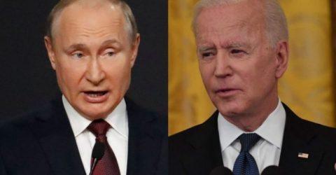Putin says wants to find ways with Biden to improve ties