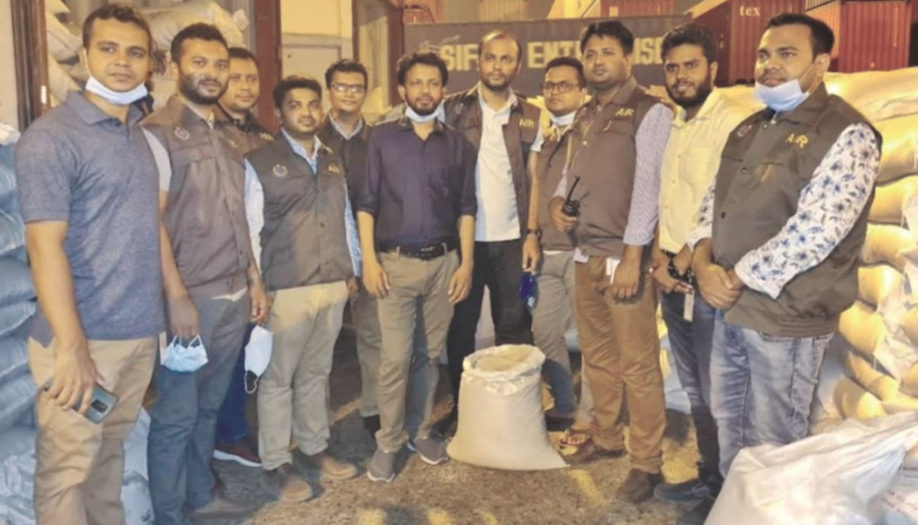 Two containers of banned poppy seeds seized at Chattogram port