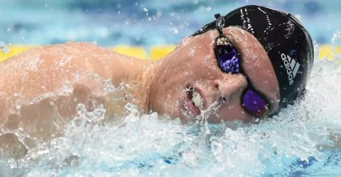 Olympic swim champ Chalmers admits Covid-hit Tokyo a 'bit scary'