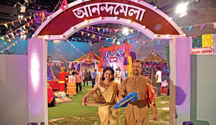 Riaz, Sporshia to anchor BTV's Anandamela
