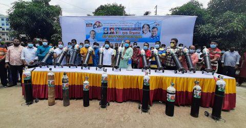 Kamrul Ahsan starts free oxygen service activities