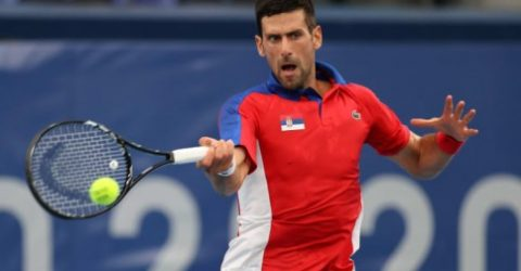 Djokovic cruises past Nishikori and into Olympic semis