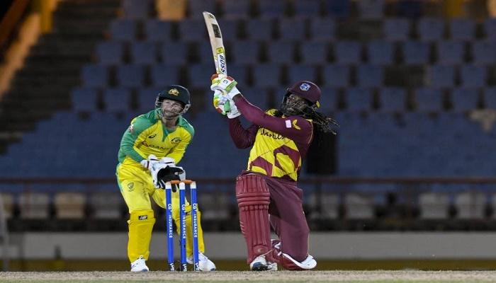 Gayle's half-century paces West Indies past Australia