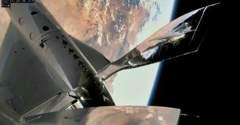 17 years after founding Virgin Galactic, Branson bound for space