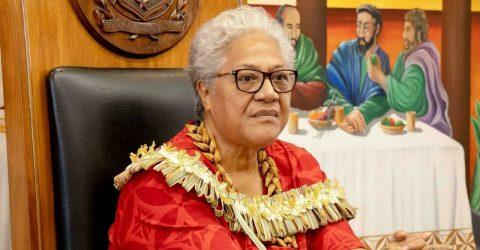 Mata'afa takes office as Samoa's first female PM