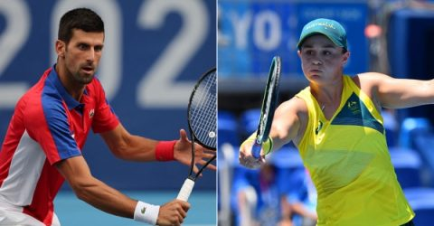 Djokovic, Barty going for gold in Olympics mixed doubles