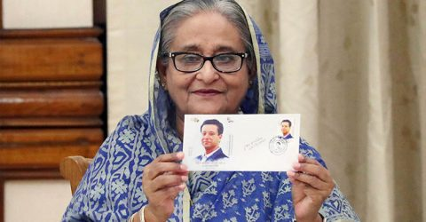 PM releases postage stamp on 50th birth anniversary of Sajeed Wazed Joy