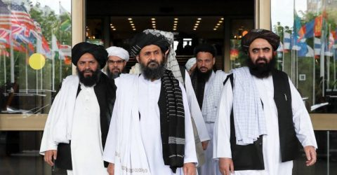 Taliban delegation visiting China for talks with officials: spokesman