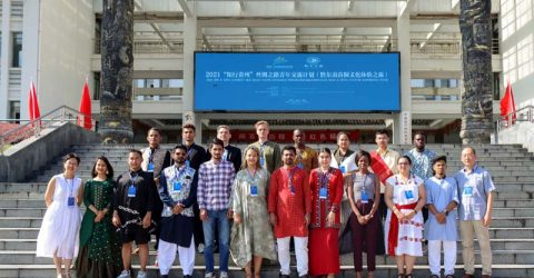 Bangladeshi students attended China's Silk Road Youth Exchange Program