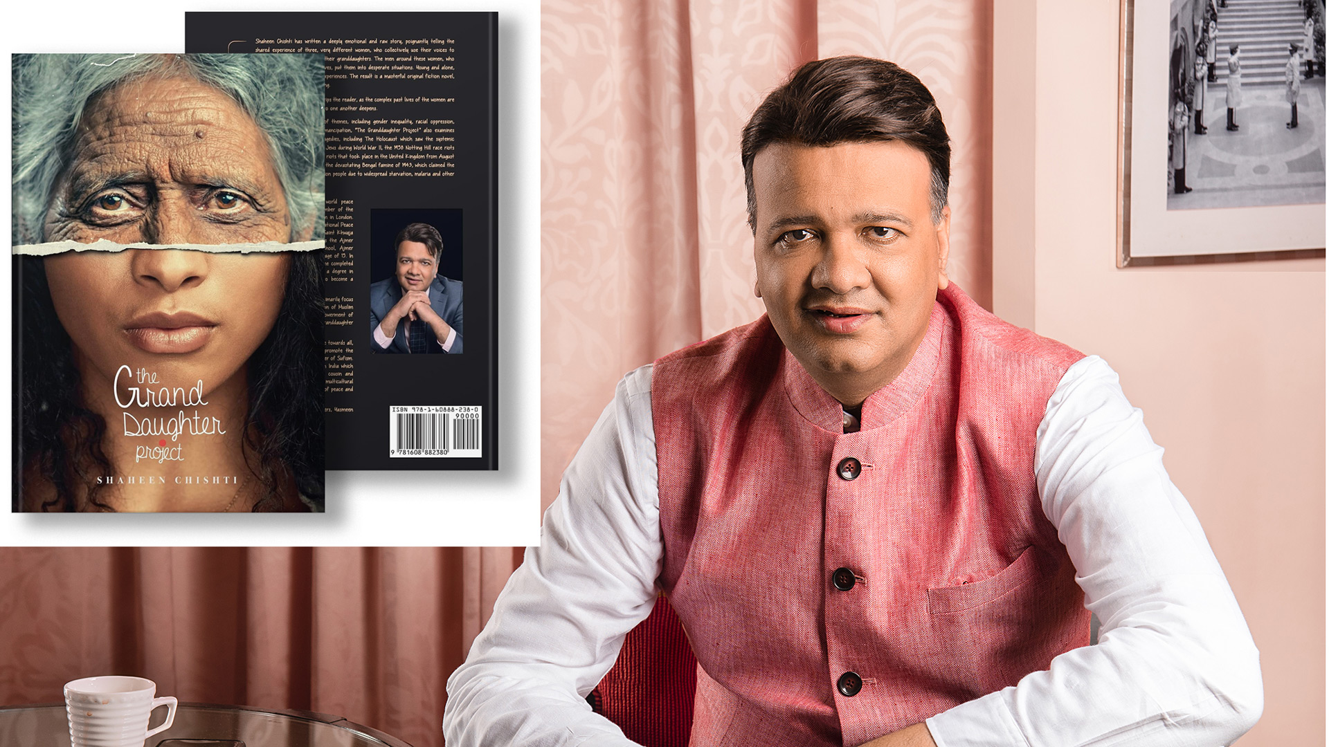 The Grand Daughter Project: British-Indian author Shaheen Chishti's debut novel