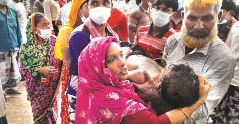 Lightning kills 16 in C'nawabganj district