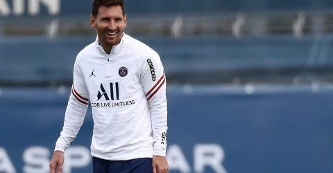 This is it: Messi gets set for PSG Champions League bow