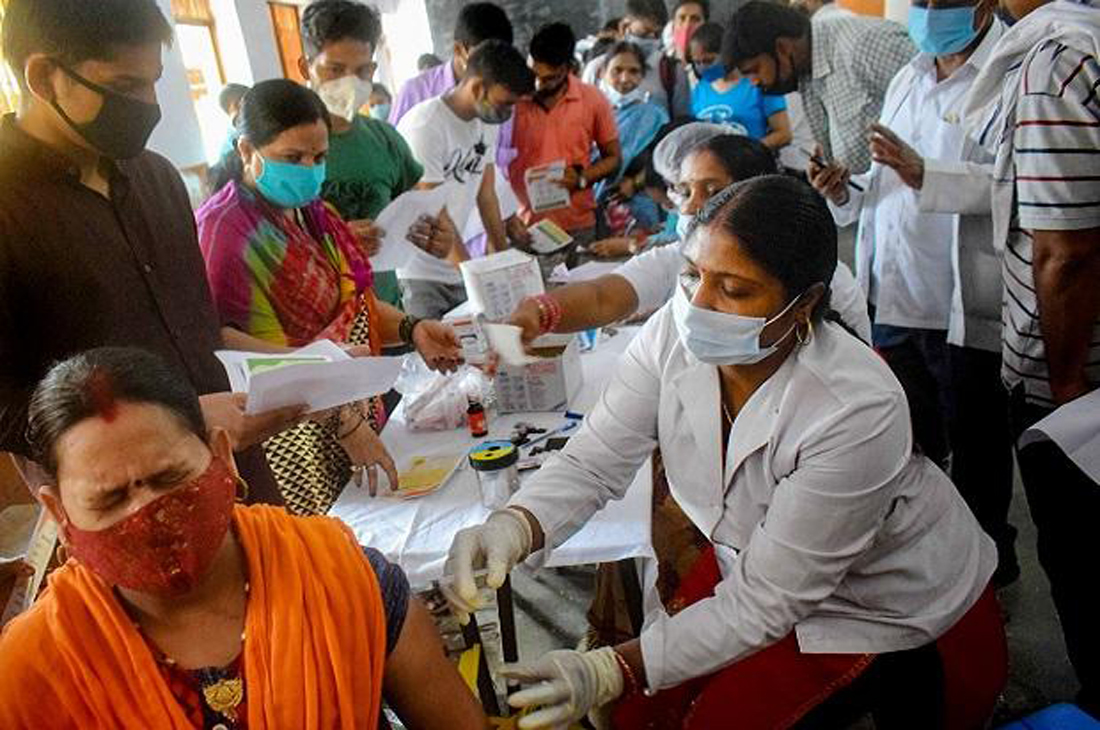 India records single-day rise of 41,831 new Covid cases, 541 deaths