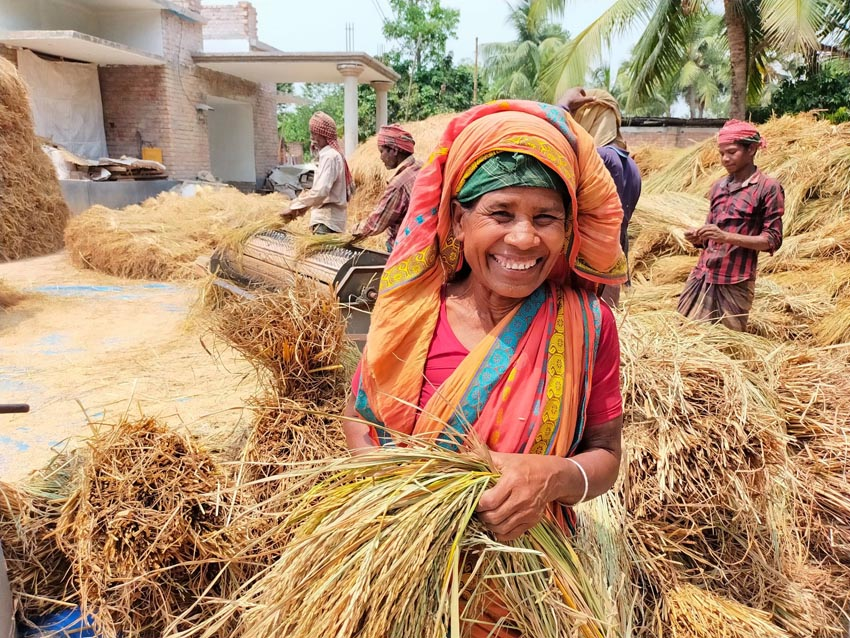Women of ethnic group contributes significantly in agriculture