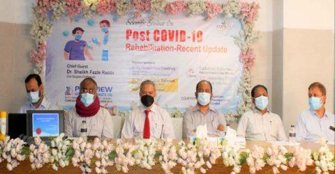 Post Covid 19 Rehabilitation Scientific Seminar held at Parkview Hospital