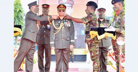 Army chief takes charge as the 'Colonel Commandant' of the Armored Corps