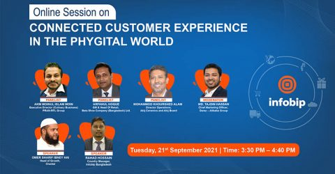 """Infobip Presents Online Session on """"Connected Customer Experience in the Phygital World"""""""