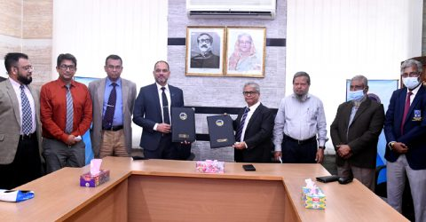 MoU between DU and BSMRAAU signed