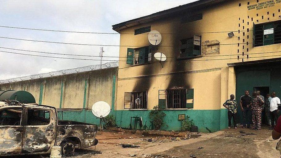 Nigeria recaptures 108 inmates after prison outbreak