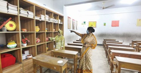 Educational instts open after 543 days all over country