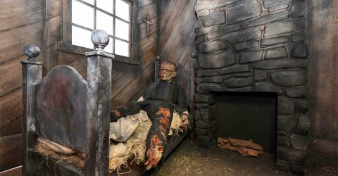 Horror offers 'escape' from pandemic year at Universal theme park