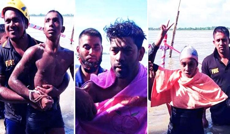 Mujib Year Sheikh Kamal Teesta Swimming Competition held