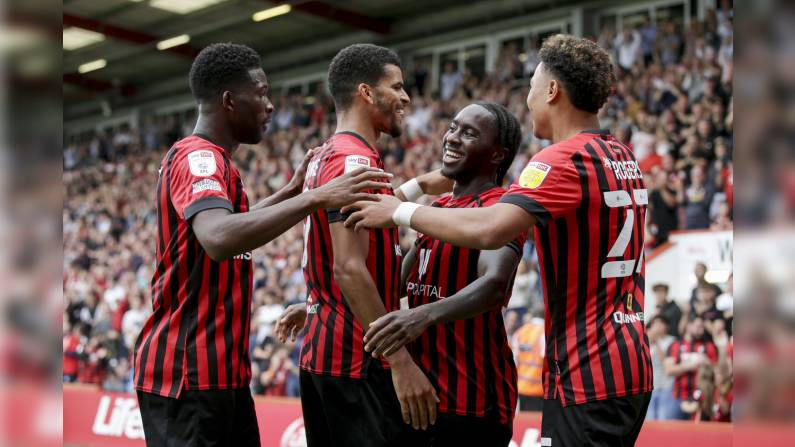 Bournemouth move level with West Brom at top of the Championship