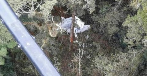 Indonesian cargo plane crashes into mountain, 3 missing