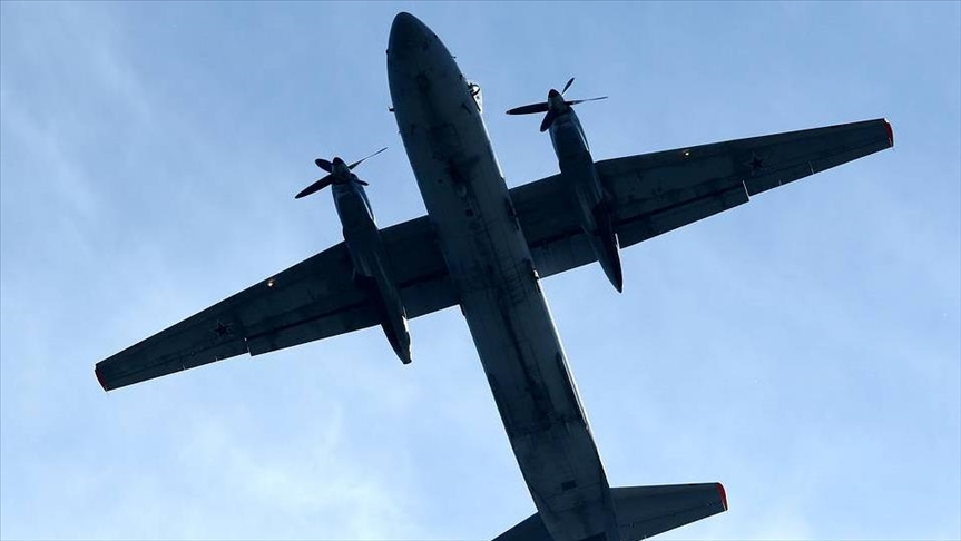 Military plane with six on board disappears in Russia
