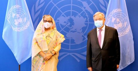 Guterres praises Bangladesh's development miracle, Sheikh Hasina's leadership