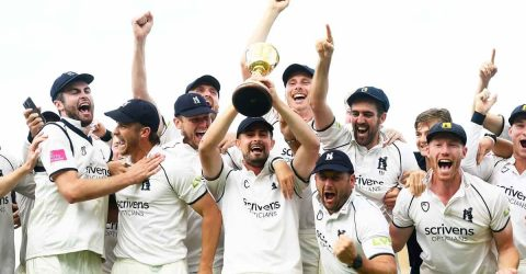 Warwickshire win English County Championship