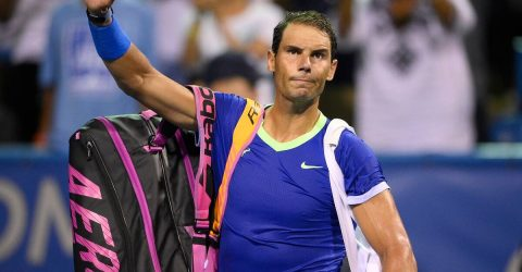 Nadal drops out of top five as Spanish teenager Alcaraz soars in rankings