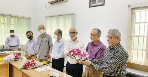 DU FEES bids farewell to three veteran professors