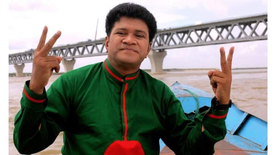 Firoz Plabon sings new song about Padma Bridge