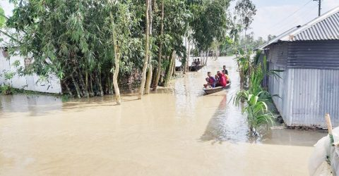 30 Kurigram riverine villages inundated