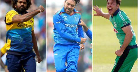 Malinga, Rashid, Campher: The T20 four-in-four club
