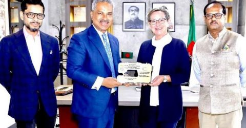 Share RMG's positive stories with Danish brands, consumers: BGMEA President  to Ambassador
