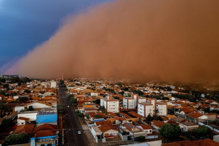 Extreme drought in Brazil triggers fatal sand storms