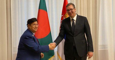 Serbian President highly lauds Bangladesh's development