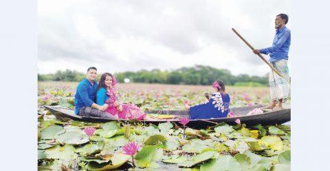 A water lily lake draws capital for socio-economic dev in Barishal