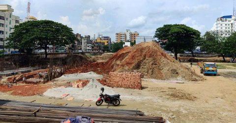 Jagannath University will not have a Playground?