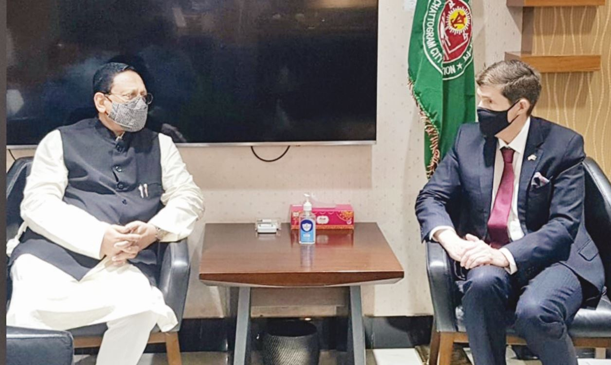 Chattogram inching towards taping new possibilities : US Envoy